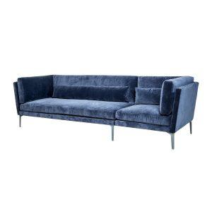 Blå Moderne Sofa