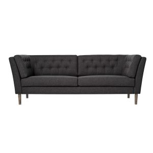 Mørk Grå Sofa