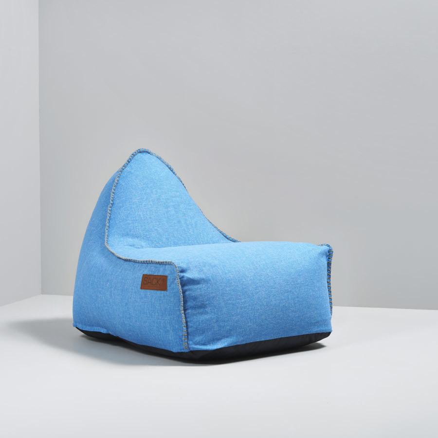 hjem sittemøbler krakker og puffer retroit cobana blå retroit cobana ...