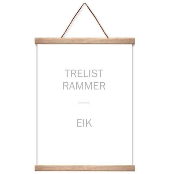 msHay Trelist Ramme Eik 50x70