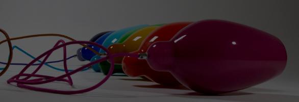 Duvele designlampe