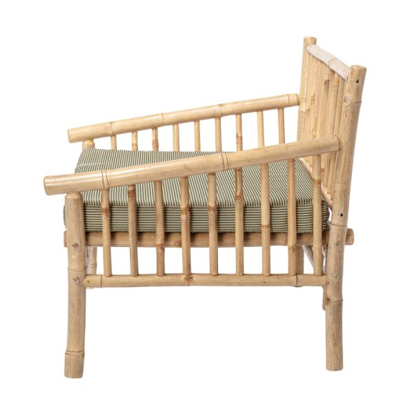 Sole Lounge Stol Natur og Bambus
